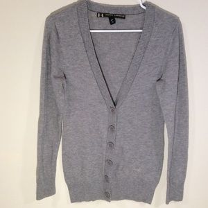 Women's Underarmour Sweater Size Small Gray